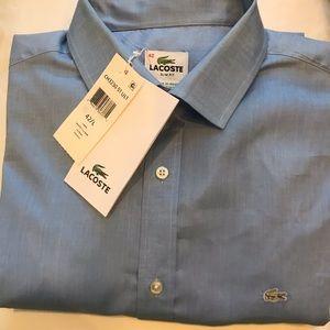 Lacoste men button down shirt